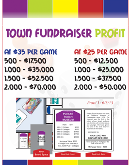 Town Monopoly Fundraiser